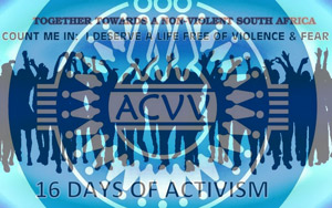 16 days of activism pledge